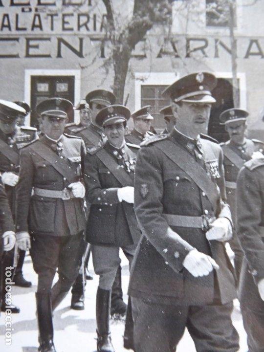 Militaria: Fotografía oficiales del ejército español. Castellón - Foto 4 - 181140155
