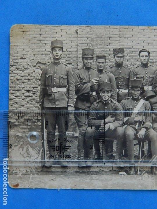 Militaria: Fotografía soldados ejército español. Ingenieros. - Foto 2 - 181401870