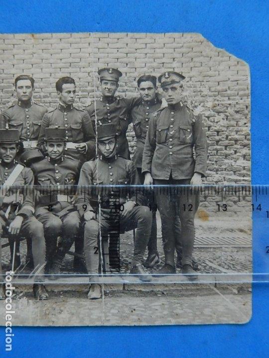 Militaria: Fotografía soldados ejército español. Ingenieros. - Foto 4 - 181401870