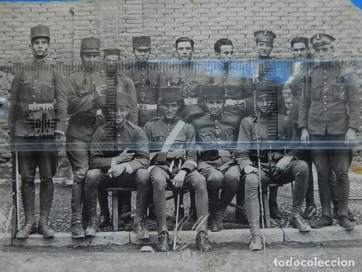 Militaria: Fotografía soldados ejército español. Ingenieros. - Foto 3 - 181401870