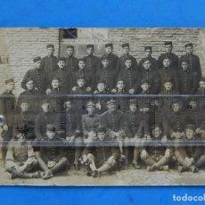Militaria: FOTOGRAFÍA SOLDADOS EJÉRCITO ESPAÑOL. INGENIEROS. FOTOGRAFÍA GRACIA. ZARAGOZA.. Lote 181402175