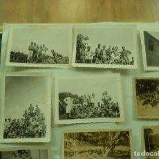 Militaria: LOTE FOTOGRAFIAS MILITARES 1939 MARRUECOS PEQUEÑO TAMAÑO. Lote 181604620