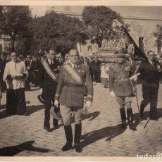 Militaria: CEUTA.- BILAUREADO VARELA. CORONACIÓN DE LA VIRGEN. FOTO CALVACHE. 24X18.. Lote 181764006