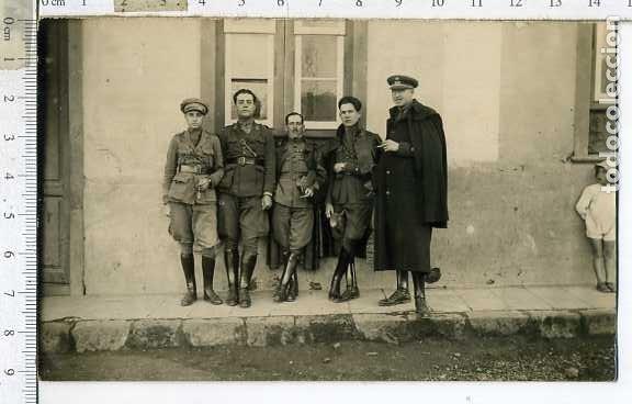 FOTOGRAFIA GRUPO DE MILITARES ALFEREZ, .. EPOCA DE ALFONSO XIII, (Militar - Fotografía Militar - Otros)