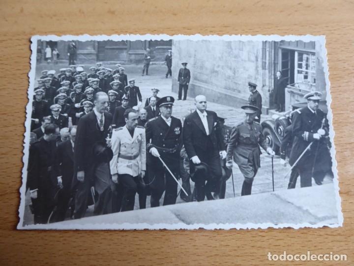 Militaria: Fotografía general de brigada del ejército español. Santiago de Compostela - Foto 2 - 181958232