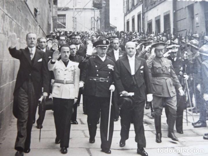 FOTOGRAFÍA GENERAL DE BRIGADA DEL EJÉRCITO ESPAÑOL. SANTIAGO DE COMPOSTELA (Militar - Fotografía Militar - Otros)