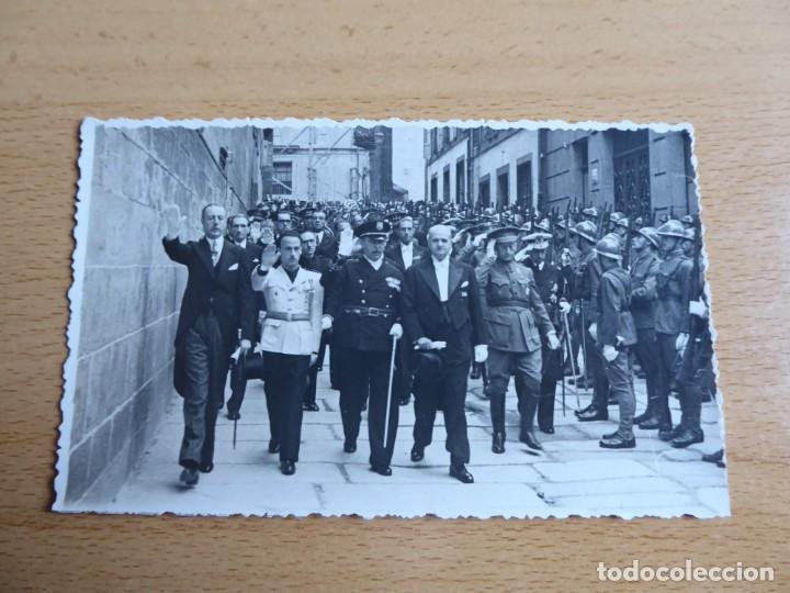 Militaria: Fotografía general de brigada del ejército español. Santiago de Compostela - Foto 2 - 181958641