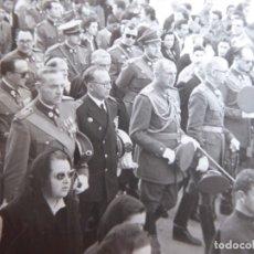 Militaria: FOTOGRAFÍA OFICIALES REGIMIENTO GUARDIA DE FRANCO.. Lote 182033618
