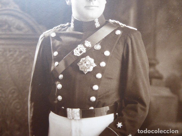 Militaria: Fotografía teniente Guardia Civil. 1931 - Foto 2 - 182033908