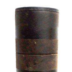 Militaria: EMPAQUE-TUBO DE CARTÓN VACÍO,PARA GRANADA DE 60MM.,M-68 ECIA,1983. Lote 182200925