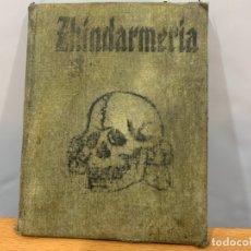 Militaria: DOCUMENTACION GENDARMERIE ZINDARMERIA NAZI KIEW 1942. Lote 182218921