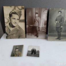 Militaria: FOTOGRAFIAS MILITARES ANTIGUAS . Lote 182280293