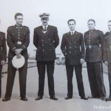 Militaria: FOTOGRAFÍA TENIENTE INFANTERÍA DE MARINA.. Lote 182321696