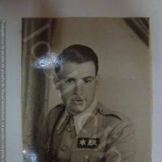 Militaria: FOTOGRAFÍA ORIGINAL. GUERRA CIVIL. ALFÉREZ. 6 DE FEBRERO DE 1938. (4,7 CM X 3,5 CM). Lote 182382070
