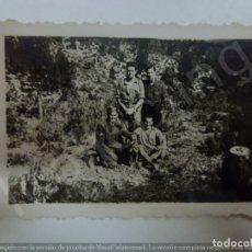 Militaria: FOTOGRAFÍA ORIGINAL. GUERRA CIVIL. SOLDADOS. (6,5 CM X 4,5 CM). Lote 182382360