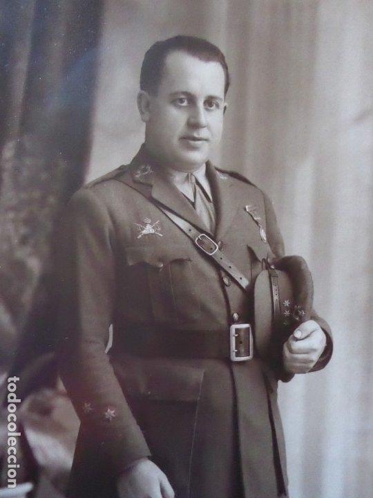 FOTOGRAFÍA CAPITÁN CARRISTA DEL EJÉRCITO ESPAÑOL. 1928 (Militar - Fotografía Militar - Otros)