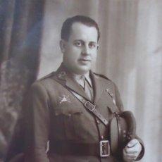 Militaria: FOTOGRAFÍA CAPITÁN CARRISTA DEL EJÉRCITO ESPAÑOL. 1928. Lote 182408331