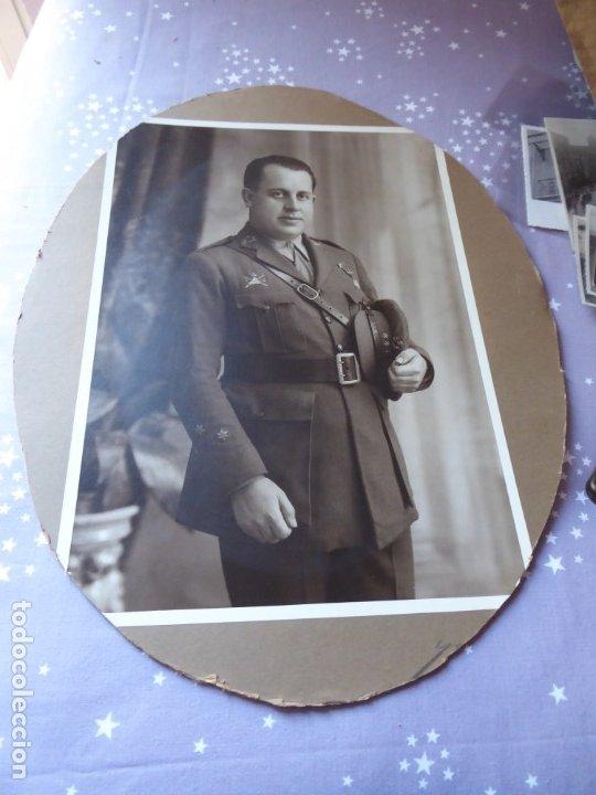 Militaria: Fotografía capitán carrista del ejército español. 1928 - Foto 2 - 182408331