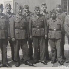 Militaria: GRUPPE O SECCION DE SOLDADOS DE LA WEHRMACHT. III REICH. AÑOS 1939-45. Lote 182411600