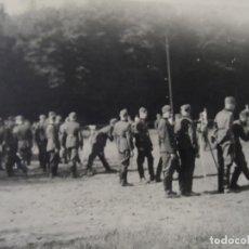 Militaria: SOLDADOS DE LA WEHRMACHT HACIENDO PRACTICAS DE TIRO K- 98K. III REICH. AÑOS 1939-45. Lote 182419601