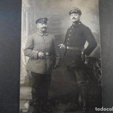 Militaria: SOLDADOS IMPERIALES ALEMANES EN ESTUDIO POSANDO. II REICH. AÑOS 1914-18. Lote 182420997
