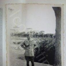 Militaria: FOTOGRAFÍA. GUERRA CIVIL. TTENIENTE. EN LA ACADEMIA MILITAR DE ZARAGOZA. CUARTELES DE SAN GREGORIO.. Lote 182456072