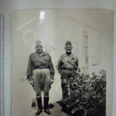 Militaria: FOTOGRAFÍA ORIGINAL. GUERRA CIVIL. CAPITANES. (8,5 CM X 6 CM). Lote 182457433