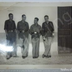 Militaria: FOTOGRAFÍA ORIGINAL. GUERRA CIVIL. SOLDADOS. (8,5 X 6 CM). Lote 182462210