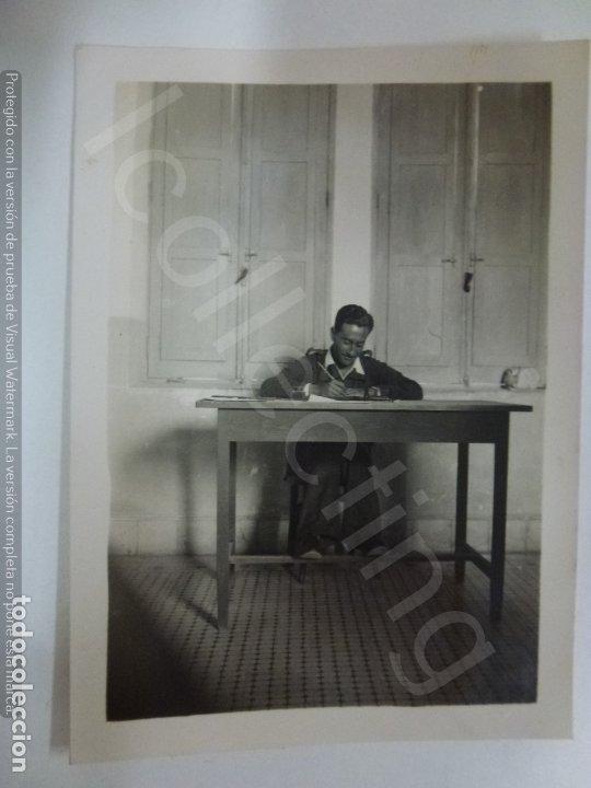 FOTOGRAFÍA ORIGINAL. GUERRA CIVIL. SOLDADO. (8,5 X 6 CM) (Militar - Fotografía Militar - Guerra Civil Española)