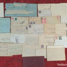 Militaria: DOCUMENTACIÓN DE LA GUERRA CIVIL. CARTAS MANUSCRITAS. VER DESCRIPCIÓN. 1939. . Lote 182589833