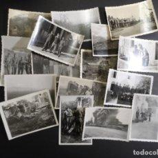 Militaria: REPORTAJE ( 45 FOTOS) SOLDADOS DE LA WEHRMACHT LINEA GOTICA. ITALIA. AÑO 1944-45. Lote 182636940