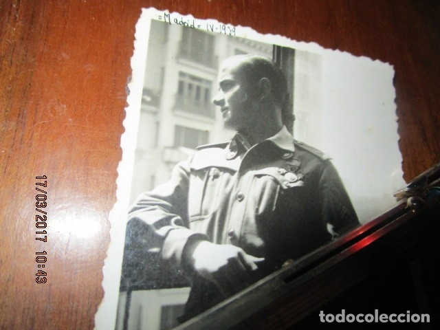 Militaria: DESPUES DE BOMBARDEOS PALACIO CORTES MADRID LIBERADO ! GRAN VIA EN PLENA GUERRA CIVIL IV 1939 - Foto 2 - 119254699