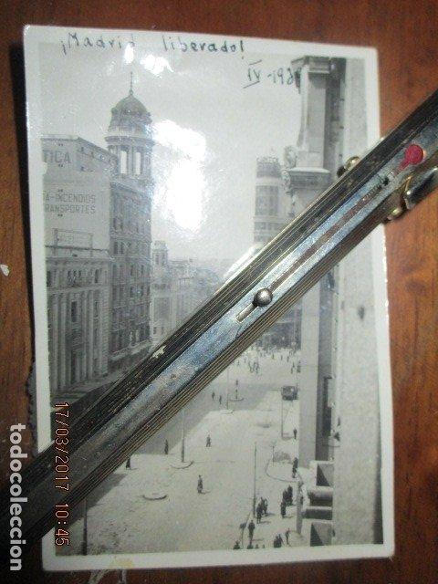 Militaria: DESPUES DE BOMBARDEOS PALACIO CORTES MADRID LIBERADO ! GRAN VIA EN PLENA GUERRA CIVIL IV 1939 - Foto 3 - 119254699