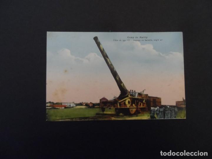 Militaria: PIEZA DE 340 MM EN BATERIA EN CAMPO DE MAILLY. REPUBLICA FRANCESA. AÑOS 1914-18 - Foto 2 - 182786390