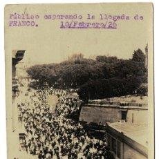 Militaria: FOTO DE LA LLEGADA DE RAMÓN FRANCO A ARGENTINA VUELO PLUS ULTRA EL 10 FEBRERO 1926 (14 X 9 CM). Lote 182825265