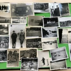 Militaria: LOTE DE 27 FOTOGRAFIAS DE LA WEHRMACHT ETC. Lote 182850971