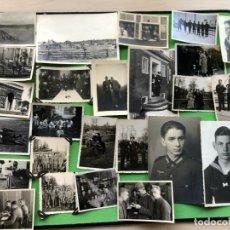 Militaria: LOTE DE 25 FOTOGRAFIAS DE LA WEHRMACHT ETC. Lote 182851433