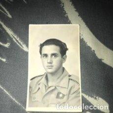 Militaria: ANTIGUA FOTOGRAFÍA RETRATO MILITAR SOLDADO ESPAÑOL GUERRA CIVIL. Lote 182857153