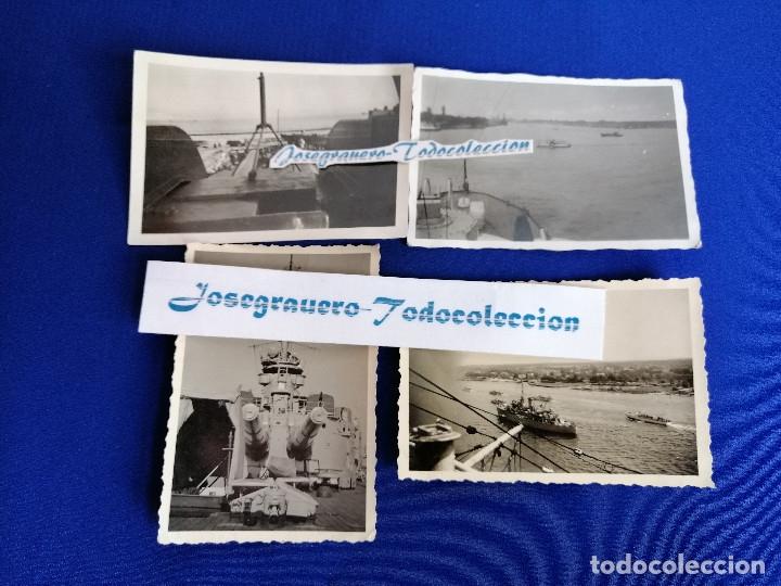 Militaria: LOTE FOTOS SEGUNDA GUERRA MUNDIAL BARCO ALEMAN (NAZI) AÑO 1941 - Foto 2 - 182973313