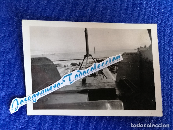 Militaria: LOTE FOTOS SEGUNDA GUERRA MUNDIAL BARCO ALEMAN (NAZI) AÑO 1941 - Foto 4 - 182973313