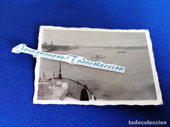 Militaria: LOTE FOTOS SEGUNDA GUERRA MUNDIAL BARCO ALEMAN (NAZI) AÑO 1941 - Foto 7 - 182973313