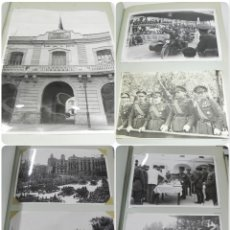Militaria: ALBUM FOTOGRAFICO DEL CUARTEL DE AUTOMOVILES DE VALENCIA, SERVICIO AUTOMOVILISMO DE LA REGION, GRUPO. Lote 183234348