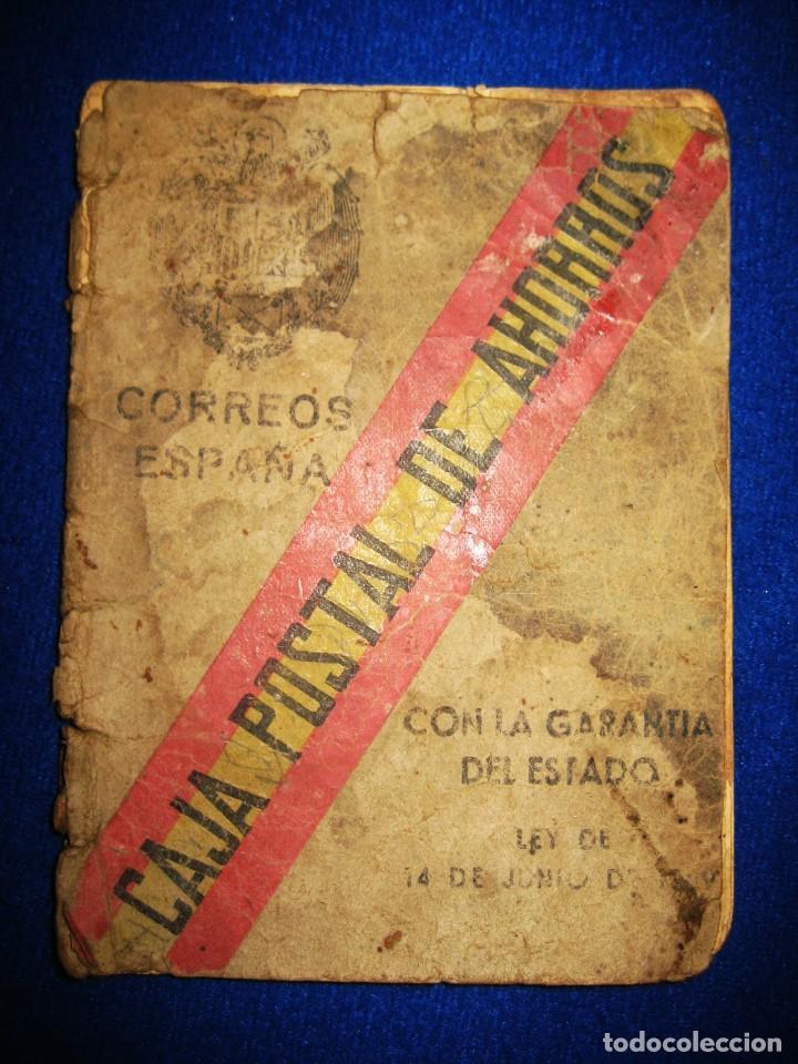 Militaria: Antigua libreta de Ahorros. Tetuán. Protectorado Español en Marruecos. Guerra Civil - División Azul - Foto 8 - 183543527