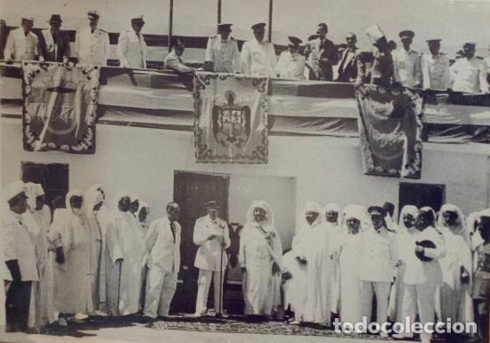 Militaria: Antigua libreta de Ahorros. Tetuán. Protectorado Español en Marruecos. Guerra Civil - División Azul - Foto 15 - 183543527