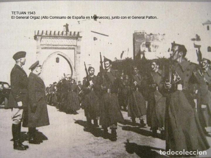 Militaria: Antigua libreta de Ahorros. Tetuán. Protectorado Español en Marruecos. Guerra Civil - División Azul - Foto 18 - 183543527