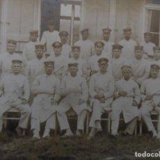 Militaria: GRUPPE DE SOLDADOS IMPERIALES SERVICIOS SANITARIOS. II REICH. AÑOS 1914-18. Lote 183559302