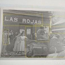 Militaria: FOTO ENTRADA SANTANDER TROPAS CTV ITALIA 1937 GUERRA CIVIL CALLE CALVO SOTELO. Lote 183559522