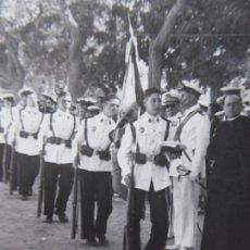 Militaria: FOTOGRAFÍA MARINEROS MILICIA NAVAL UNIVERSITARIA. CÁDIZ 1954. Lote 183602980