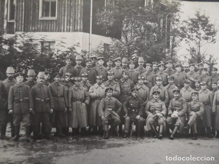 GRUPO DE SOLDADOS IMPERIALES JAGERS Y MOTORIZADOS. II REICH. AÑOS 1914-18 (Militar - Fotografía Militar - I Guerra Mundial)
