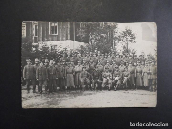 Militaria: GRUPO DE SOLDADOS IMPERIALES JAGERS Y MOTORIZADOS. II REICH. AÑOS 1914-18 - Foto 2 - 183606707